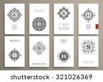 set of design templates ... | Shutterstock .eps vector #321026369