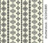 tribal art ethnic seamless... | Shutterstock .eps vector #321041885