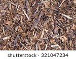 Pine Tree Bark Chip Background...