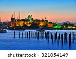 View Of Bodrum Harbor And...