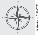 compass rose symbol | Shutterstock .eps vector #321060725