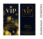 vip party premium invitation... | Shutterstock .eps vector #321062561