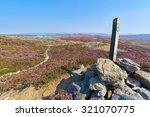 Hiking Signpost At Edmundbyers...