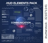communication concept in hud...
