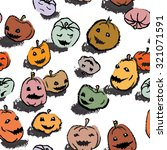 seamless pattern with cute... | Shutterstock .eps vector #321071591