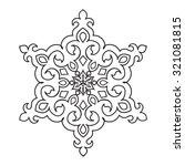 circular pattern. islamic...   Shutterstock .eps vector #321081815