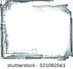 highly detailed grunge frame ... | Shutterstock . vector #321082061