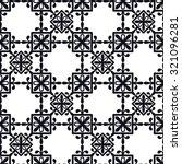 vector illustration of moroccan ... | Shutterstock .eps vector #321096281