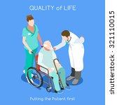 elder health care medical...   Shutterstock .eps vector #321110015