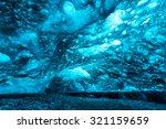 Ice Cave At Vatnajokull Glacie...