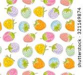 seamless pattern set pink blue... | Shutterstock .eps vector #321169874