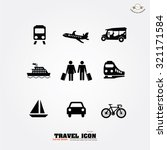 business man travel .business... | Shutterstock .eps vector #321171584