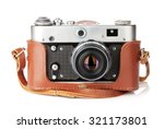 vintage film camera with... | Shutterstock . vector #321173801