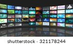 television production... | Shutterstock . vector #321178244