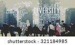 diverse equality gender... | Shutterstock . vector #321184985