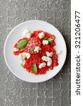 salad with tomatoes and... | Shutterstock . vector #321206477