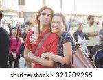 milan  italy   september 24 ...   Shutterstock . vector #321209255