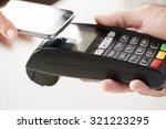 nfc   near field communication  ...   Shutterstock . vector #321223295