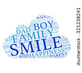 family info text graphics and... | Shutterstock .eps vector #321238241