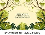 jungle. vector illustration | Shutterstock .eps vector #321254399