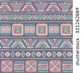 vector tribal mexican vintage... | Shutterstock .eps vector #321262889