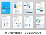 business infographics elements... | Shutterstock .eps vector #321264005