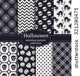 happy halloween  set of... | Shutterstock .eps vector #321280475
