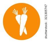 carrot icon. | Shutterstock .eps vector #321305747