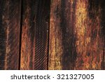 Burnt Wooden Plank