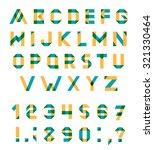 vector alphabet set fun... | Shutterstock .eps vector #321330464