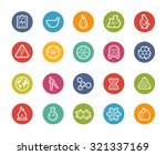 science icons    printemps... | Shutterstock .eps vector #321337169