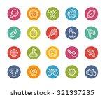 sport icons    printemps series | Shutterstock .eps vector #321337235