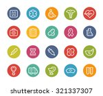 medical icons    printemps... | Shutterstock .eps vector #321337307
