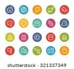 website icons    printemps... | Shutterstock .eps vector #321337349