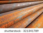 Oxidation Rust Steel Pipe ...