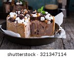 Rocky Road Ice Cream Cake With...