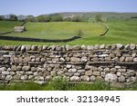 A Dry Stone Wall In The...
