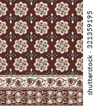 border bohemian print | Shutterstock .eps vector #321359195