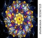 Modern Kaleidoscope Pattern...
