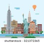 illustration of new york city ...