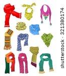 set of scarves for girls...