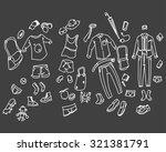 men clothing | Shutterstock .eps vector #321381791