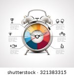 alarm clock   time management | Shutterstock .eps vector #321383315