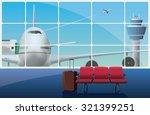 airport | Shutterstock .eps vector #321399251