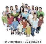 community variation diverse... | Shutterstock . vector #321406355