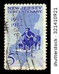 united states   circa 1964  a... | Shutterstock . vector #321410921