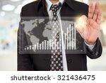 businessman standing posture... | Shutterstock . vector #321436475