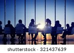 business people communication... | Shutterstock . vector #321437639