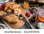 little jar of jam | Shutterstock . vector #321455441
