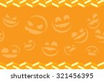 halloween vector background... | Shutterstock .eps vector #321456395
